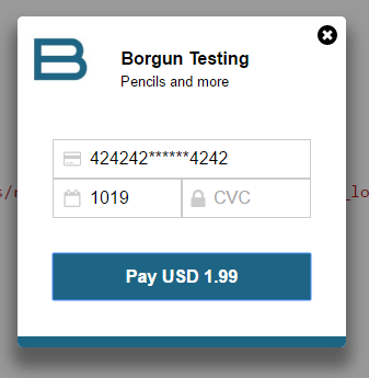 Borgun Checkout